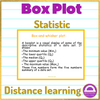 Distance Learning Box Plot Online Lesson
