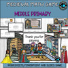 Math problems for Middle Primary students-Powerpoint game and worksheets