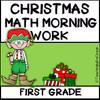 1st Grade Morning Work - Math - Christmas