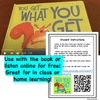 Virtual Read-A-Loud- You Get What You Get- Student Reading Activities