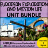 European Exploration and Mission Life (in Texas) **BUNDLE**
