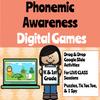 FREE - Digital Phonemic Awareness Games (Remote Ready Resource)