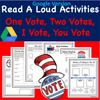 Digital Version  Read-A-Loud Tasks- One Vote, Two Votes, I Vote, You Vote - with Cat in the Hat