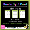 First Grade Sight Word Spelling Lists, Posters & Google Slide Flash Cards