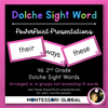 Second Grade Dolche Sight Word Spelling Lists, Posters & Google Slide Flash Cards