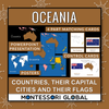 Oceania - Continent, Countries, their Flags and their Capital Cities