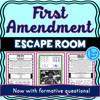 First Amendment ESCAPE ROOM!