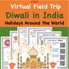 Digital Version:  Discount Bundle- Holidays Around the World Virtual Field Trips