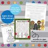 Adam and Eve Activity Pack- Little Learners Bible Lesson & Activity Packet
