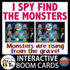 Halloween I Spy Find the Monster with animated GIF Boom Cards
