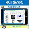 Vocabulary - Halloween - Matching Pictures Game