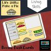 Life Skills: Make a Pie Boom Cards