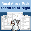 Read-A-Loud Tasks: Snowmen at Night