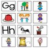 Beginning Sounds Pocket Chart in Spanish- Sonidos iniciales