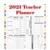 2021 Teacher Planner School for Organization, Lesson Plans, Agendas