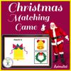 Animated Christmas Matching Game Boom Cards
