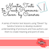 """Using Mentor Text """"Eleven"""" to Teach Pronouns"""