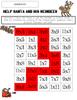 Winter Math Choice Board