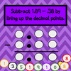 Decimals - Adding and Subtracting with Kelly's Number Chips