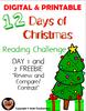 12 Days of Christmas FREEBIE