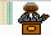 Adding and Subtracting Fractions Pixel Art Activity Martin Luther King
