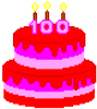 2 Digit Addition - 100th Day of School - Cake - Math Pixel Art Mystery EDITABLE