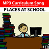 'PLACES AT SCHOOL' (Grades K-2) ~ Curriculum Song & Lesson Materials