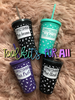 Personalized Tumbler 16 Ounce - FREE Shipping