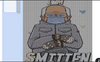 "Bernie Sanders "" I'm Smitten"" Pixel Art- Fully Editable"
