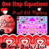 Solving One Step Equations Digital Activity Valentine's Day Math Escape Room