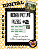 Hidden Mystery Picture Puzzles: Because of Winn Dixie Edition Comprehension Puzzle
