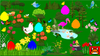 DIGITAL Math Easter Egg Hunt - Solving Equations with Variables on Both Sides