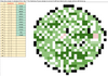 Earth Day Adding and Subtracting Fractions Pixel Art Activity Google Sheets