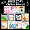 Holiday Choice Boards Bundle