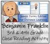 Benjamin Franklin Close Reading Activity Digital & Print | 3rd Grade & 4th Grade