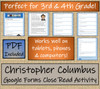 Christopher Columbus Close Reading Activity Digital & Print | 3rd & 6th Grade