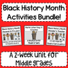 Black History Month Activities Bundle!
