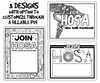 FREE HOSA Club Promotional Posters- Customizable and Ready to Print!