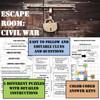 Escape Room- Civil War