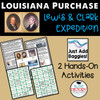 Louisiana Purchase Lewis and Clark Hands-on Activities