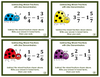 Subtracting Mixed Fractions with Like Denominators Task Cards
