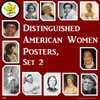 Distinguished American Women Posters (Bundle of 3 sets)