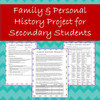 Personal & Family History Project