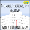 Fluency Chains - Solving One Step Equations