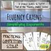Fluency Chains - Simplifying Exponents