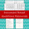 DBQ Essay Rubric, Document Analysis & Essay Writing Resources - All Editable!