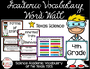 4th Gr Texas TEKS Science Vocabulary Word Wall