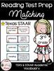 3rd Grade STAAR Reading Matching Test Prep