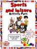 Sports and Leisure Activity Pack resource cover