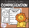 This activity is ready to print and go! you can read this adorable book to your kiddos and then have them retell the story using their strategies for retelling. These can also be found on the freebie bookmarks that I have under my free resource. Students will simply fill out this retelling comprehension worksheet and then they can color the Lion on the following page!